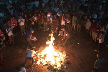 ¡EVITANDO LA LISTA TASCÓN! En varios puntos se adelantaron y quemaron cuadernos electorales (+Videos)