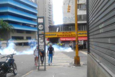 ¡ÚLTIMA HORA! Reprimen trancazo en La Candelaria #4Jul