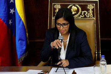¡AVANZA LA DICTADURA! Delcy Rodríguez adelanta que ANC regulará las redes sociales
