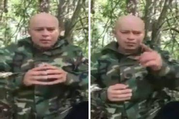 ¡ENTÉRESE! Capitán de la GNB Javier Nieto se declara en rebeldía y a favor del alzado Juan Carlos Caguaripano (+Videos)