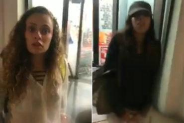 """¡VERGÜENZA! Pillaron a dos venezolanas """"raspando"""" una tarjeta de crédito que robaron en Miami  (+Video bochornoso)"""