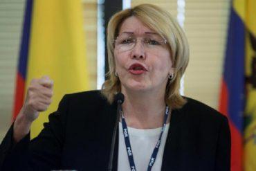 """¡TAMBIÉN SE PRONUNCIÓ! Luisa Ortega Díaz se pronuncia sobre la muerte del concejal García: """"Es un violación más de DDHH"""""""