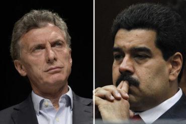"""¡TOMA TU TOMATE! Macri condena """"dictadura"""" de Maduro y reconoce a la AN como la única institución legítima (+Video)"""