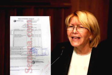 ¡TE LO TRAEMOS! Este fue el plan de vuelo de Luisa Ortega desde Aruba a Colombia (+Documento)