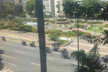 ¡ÚLTIMA HORA! Reprimieron a manifestantes que hacían trancazo en Altamira (+Videos)