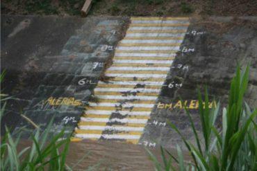 ¡ATENCIÓN! Monitorean nivel del Guaire ante alerta de desborde por fuertes lluvias (+Video)