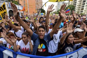 """¡ÚLTIMA HORA! Oposición venezolana convoca a primera protesta y """"paro nacional"""" a partir de este martes #21Ago"""