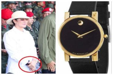 """¡VAYA, VAYA! El """"humilde"""" reloj de Cilia Flores que no podrá tener cualquier venezolano (pasa de 60 sueldos mínimos)"""