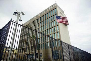 ¡SEPAN! EEUU retira 60% del personal de su embajada en Cuba y suspende la emisión de visas