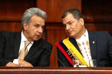 """¡SE LO SACUDIÓ! Moreno denuncia milmillonaria corrupción en el Gobierno de Correa: es """"vergonzosa y escandalosa"""""""