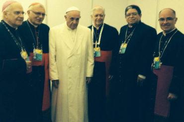 ¡SEPAN! Lo que dijo el papa Francisco a los obispos venezolanos en reunión privada en Colombia