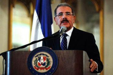 ¡ENTÉRESE! Danilo Medina aclara que reunión en Dominicana no es un diálogo sino una negociación (+Video)