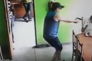 """¡SIN FILTRO! A """"balazos"""" mataron a jefe de mafia fronteriza en restaurante de Maracaibo (+Video)"""