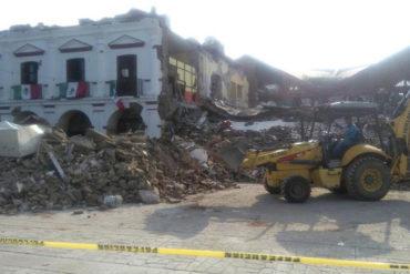 ¡ATENCIÓN! Asciende a 58 la cifra de muertos tras potente terremoto en México (más de mil viviendas sufrieron daños)