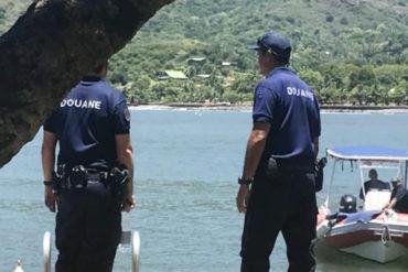 ¡OTRA RAYA! Interceptan yate procedente de Venezuela en la Polinesia Francesa con 550 kilos de cocaína
