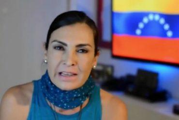 """¡CLARITO! El contundente llamado de la actriz Alba Roversi: """"Si no votas, entregas a Venezuela"""""""