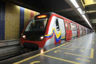 ¡URGENTE! Lanzaron lacrimógena en estación Capuchino del Metro de Caracas