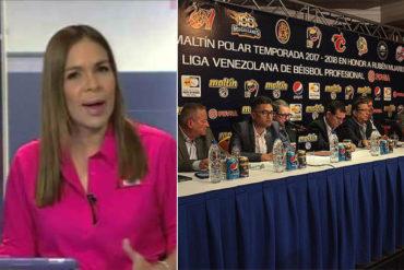 ¡LES DIO HASTA CON EL TOBO! La descarga de Mari Montes tras conocer el patrocinio de Pdvsa a la LVBP