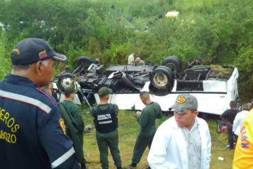 ¡QUÉ TRAGEDIA! Accidente en carretera de Calabozo, en Guárico, dejó 9 muertos y 28 heridos (+Fotos)