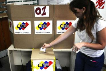 ¡ENTÉRESE! Partidos políticos piden ir a elecciones para hallar solución a problemas en Venezuela