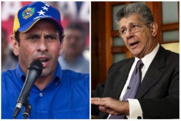¡ÁCIDO! Las 16 venenosas frases que lanzó Capriles a Ramos Allup y los 4 gobernadores adecos (+Video +auch)