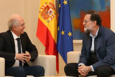 ¡CONÓZCALOS! Antonio Ledezma dio detalles del encuentro que sostuvo con Rajoy