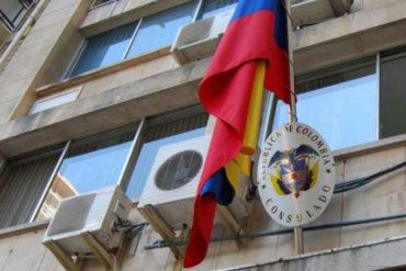 ¡MÍRELO USTED MISMO! Pernoctas en el consulado de Colombia para realizar trámites (+Fotos)
