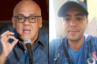 ¡DESCARADO! Lo que dijo Jorge Rodríguez sobre la desaparición del periodista Jesús Medina (+Video)