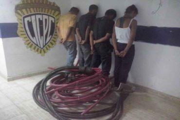 """¡ABUSADORES! Cerraron varias estaciones del Metro por fallas eléctricas y detuvieron """"in fraganti"""" a ladrones de cableado"""