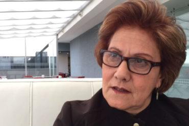 ¡EL PUÑAL! PJ destituyó a la alcaldesa metropolitana de Caracas, Helen Fernández (+Video)
