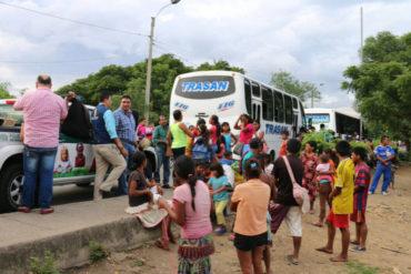 ¡ATENCIÓN! Al menos 150 indígenas Yukpa fueron devueltos a Venezuela por dormir en las calles de Cúcuta (Video+Fotos)