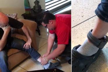 "¡TEMEN SE LES VUELE! Sebin coloca ""grillete"" electrónico a Iván Simonovis tras fuga de Ledezma (+Video)"