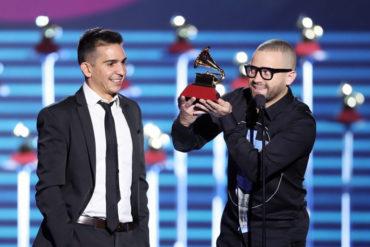 ¡BIEN MERECIDO! Nacho sigue haciendo historia en la música: Ganó un Latin Grammy (+Fotos)