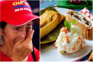 ¡ADIÓS NAVIDAD! El precio de locura de un plato navideño en un reconocido establecimiento comercial de Caracas