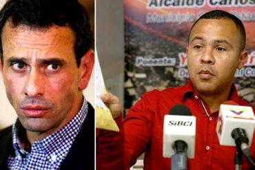 """¡SE RASCÓ! Procurador denuncia a Capriles por corrupción: """"Es un ladrón, con el perdón de los malandros"""" (+Video)"""