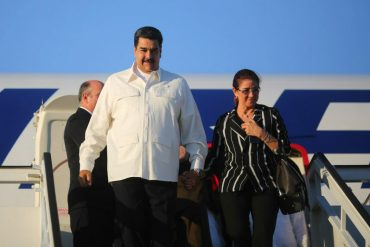 ¡FINGIENDO DEMENCIA! Maduro y Cilia pasan en La Habana el rato amargo de la sentencia de sus sobrinos (VIDEO)