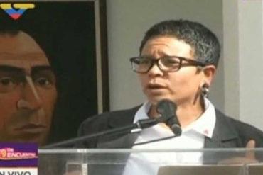 """¡BIEN BELLO! Ni la escasez, ni la basura: Para la nueva alcaldesa de Caracas la prioridad será """"luchar contra el imperialismo"""""""