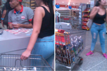 """¡PILLADA! Mujer se gastó NUEVE TICKERAS del Bono del """"Niño Jesús"""" en alcohol (Foto +guisos por doquier)"""