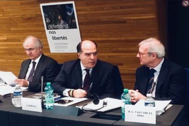 ¡SEPA! Julio Borges llegó al Europarlamento para recibir en nombre de Venezuela el Premio Sájarov