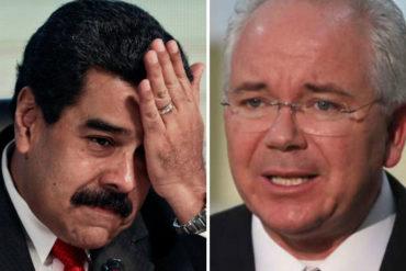 """¡AY, PAPÁ! """"No les conviene meterse conmigo, porque yo sí sé cómo pasaron las cosas"""", advirtió Ramírez a Maduro"""