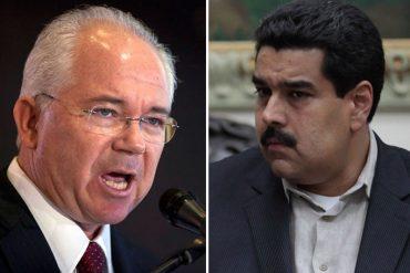 """¡SÓBATE! Rafael Ramírez le lanzó fuerte a Maduro: """"Fracasó en la conducción de la economía. Destruyó Pdvsa"""" (+Video)"""