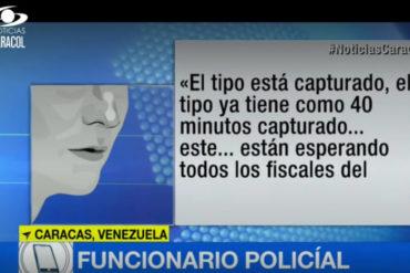 ¡REVELADOR! Caracol Noticias difunde supuesto audio que confirmaría que a Óscar Pérez lo capturaron VIVO