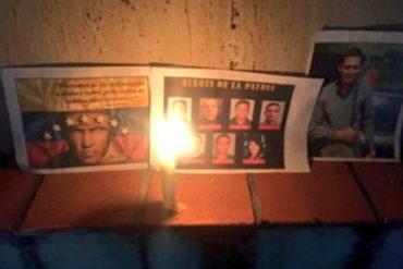 ¡HOMENAJE A LOS CAÍDOS! Realizan vigilia en alrededores de la morgue de Bello Monte (+Video)
