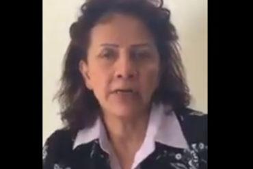 """¡DOLOROSO! El desgarrador video de la madre de Óscar Pérez: """"Si no me entregan el cuerpo, para mi está vivo"""""""