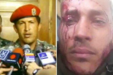 ¡MÍRALO! Así fue como le perdonaron la vida a Chávez (derecho que le negaron a Oscar Pérez)