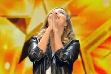"¡ENTÉRESE! Venezolana se gana ovación de pie y pase emotivo en ""Got Talent España"""