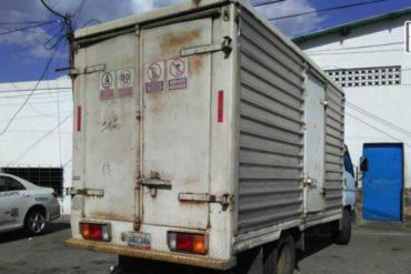¡VANDALISMO! Saquearon camión con soluciones fisiológicas en Guárico