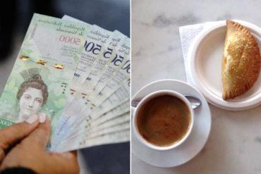 ¡CADA VEZ MÁS POBRES! El nuevo salario integral decretado por Maduro solo alcanza para comprar un café o una empanada
