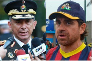 """¡SIN PELOS EN LA LENGUA! Mayor general Alexis López le dio """"con todo"""" a Lacava por chabacano y vulgar (+Tuit)"""