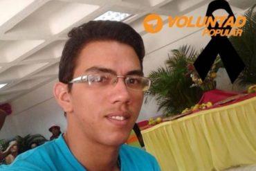 ¡LAMENTABLE! Dirigente juvenil de Voluntad Popular falleció por falta de antibióticos para atender su insuficiencia respiratoria